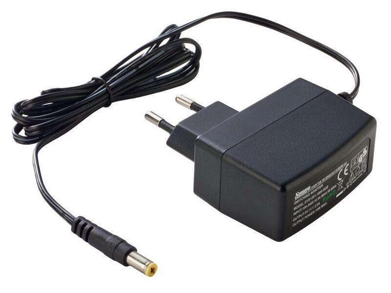 Napájecí zdroj 24V DC 0,5A 12W - SYS1381N-1224-W2E - Konektor 5,5/2,1